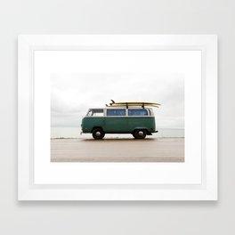 Superior Surf Framed Art Print