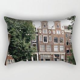 AMSTERDAM / Gingerbread Houses Rectangular Pillow