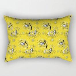 Hufflepuff Toile Rectangular Pillow