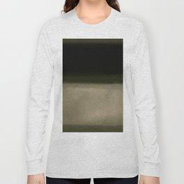 Rothko Inspired #5 Long Sleeve T-shirt