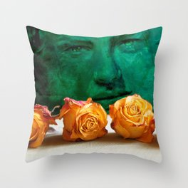 ROSE - quote Throw Pillow