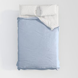 POWDER BLUE pastel solid color Comforters