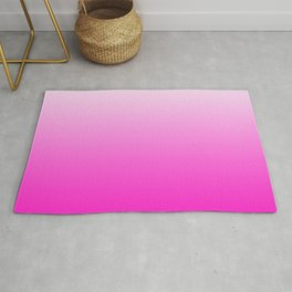 White and Pink Gradient 043 Rug