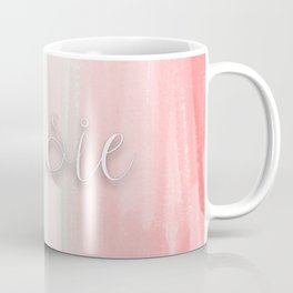 Susie - Mint and Coral Ombre Coffee Mug