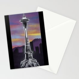 Rooted in Seattle 1 Stationery Cards