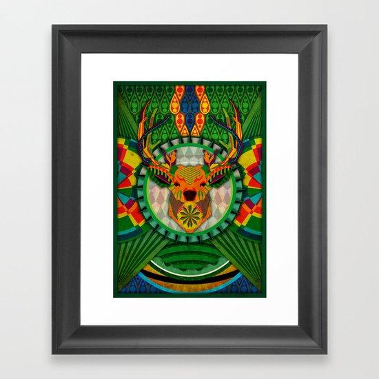 Spirit of the Forest Framed Art Print