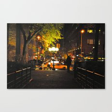 Nocturnal Union Square Canvas Print