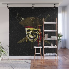 The Dark Eyes Of Pirates Wall Mural