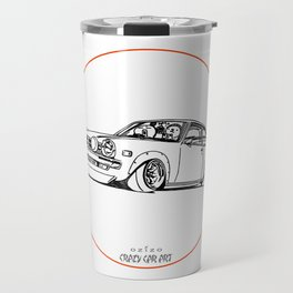 Crazy Car Art 0190 Travel Mug