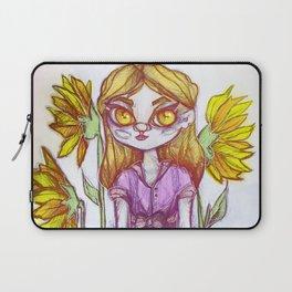 Sunflower Doll Laptop Sleeve