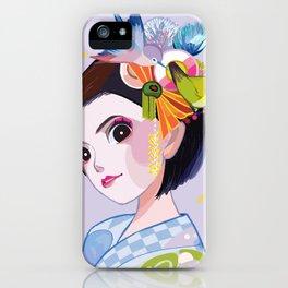 Maikohan Summer Cutie iPhone Case
