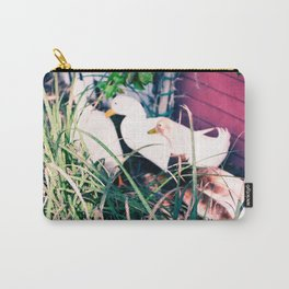 Tail Feathers Country Barn Print Carry-All Pouch