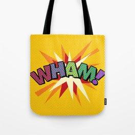Comic Book Pop Art Sans WHAM! Tote Bag
