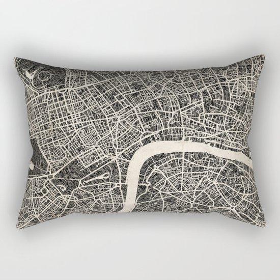 London map Rectangular Pillow