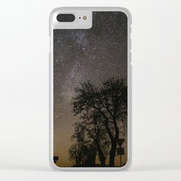 Clear Sky Clear iPhone Case