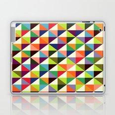 Mid-century triangle pattern Laptop & iPad Skin