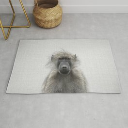 Baboon - Colorful Rug