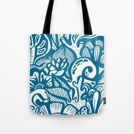 Atlantic Pattern Tote Bag