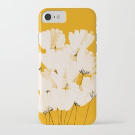 Flowers In Tangerine iPhone Case