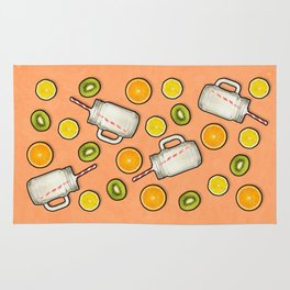 Summer fruit #society6 Rug