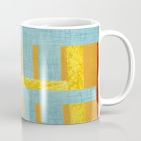 50s Mugs featuring 50s block colour by Pagan Sovereign Studios