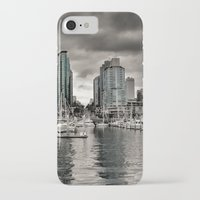 vancouver iPhone & iPod Cases featuring Vancouver Waterfront by Anthony M. Davis