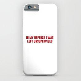 Modern Day Sirius iPhone Case