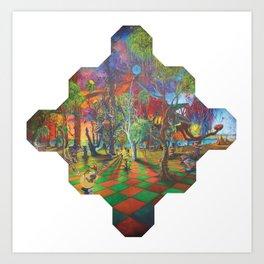 The Molecule Art Print