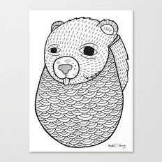 Mr. Rupel's Most Ingenuous Beard for Bears  Canvas Print