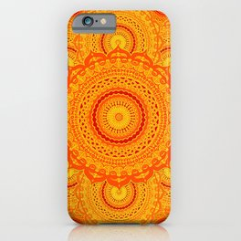 omulyána dancing gallery mandala iPhone Case