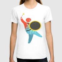 drum T-shirts featuring I Drum  by ArtistArt