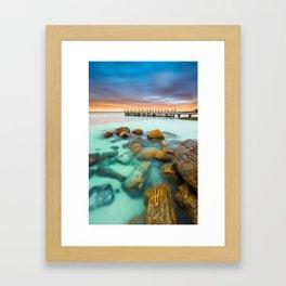 Summer Perfection Framed Art Print