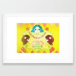 Birthday  Framed Art Print