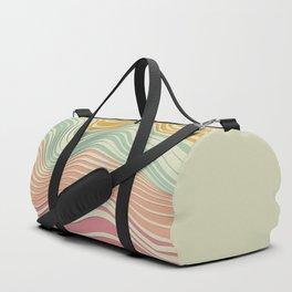 Colored Landscape Duffle Bag