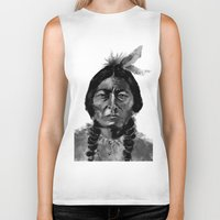 native Biker Tanks featuring Native by Paul Claisse