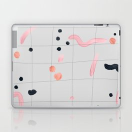 feeling peachy Laptop & iPad Skin