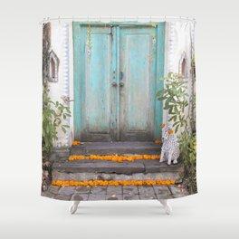 Marigolds Shower Curtain
