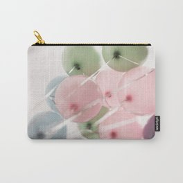 colored pastel balloons Carry-All Pouch