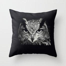 owl chouette 2 Throw Pillow