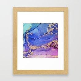 Dancing Mermaid - Abstract Ink - Part 2 Framed Art Print