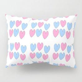 hearts 3-heart,love,romantism,girl,sweet,women,romantic,cute,beauty Pillow Sham