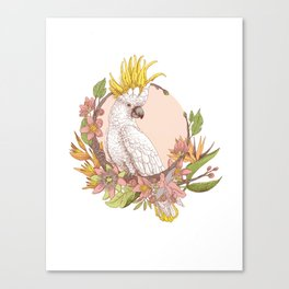 cacatoes Canvas Print