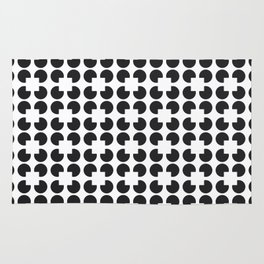 Circle Square Pattern Rug
