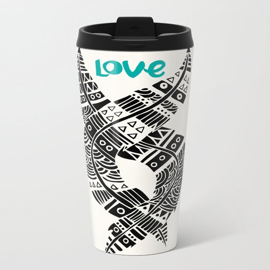United Love Metal Travel Mug