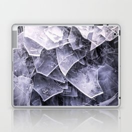 Cracked Ice Tiles In Lake Shore #decor #buyart #society6 Laptop & iPad Skin