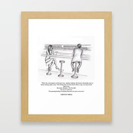 Happiness One Framed Art Print