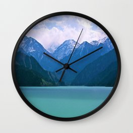 Lake t1me Disposition Wall Clock
