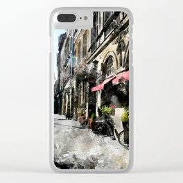 Cracow art 20 #cracow #krakow #city Clear iPhone Case