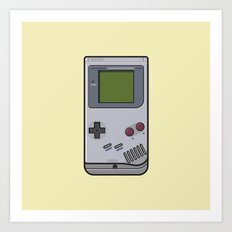 #44 Nintendo Gameboy Art Print