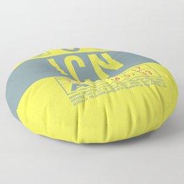Luggage Tag B - ICN Seoul Incheon South Korea Floor Pillow